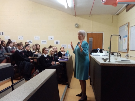 HAPSOC host Mary Hanafin